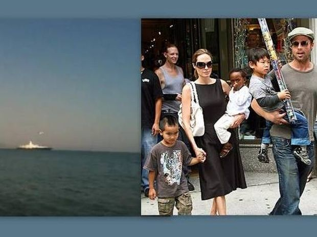Brad Pitt-Angelina Jolie: Με τη θαλαμηγό τους ανοιχτά στην Πύλο!