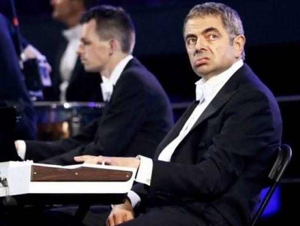 Τελετή έναρξης 2012: Ο Mr Bean έπαιξε Βαγγέλη Παπαθανασίου