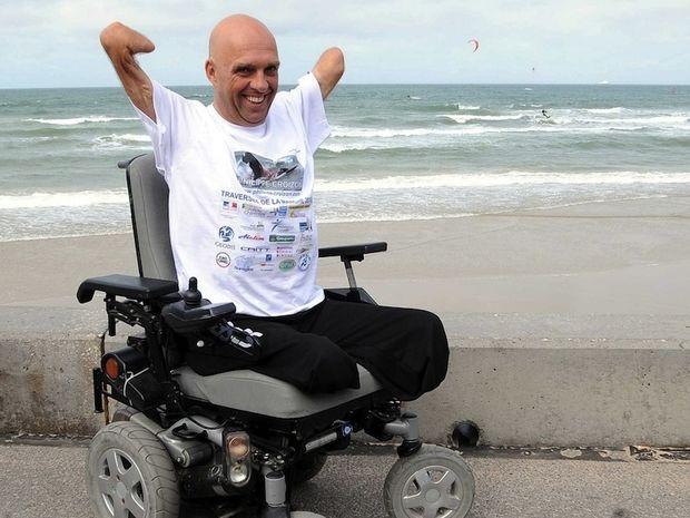 Philippe Croizon – Ακρωτηριασμένος διασχίζει τις θάλασσες