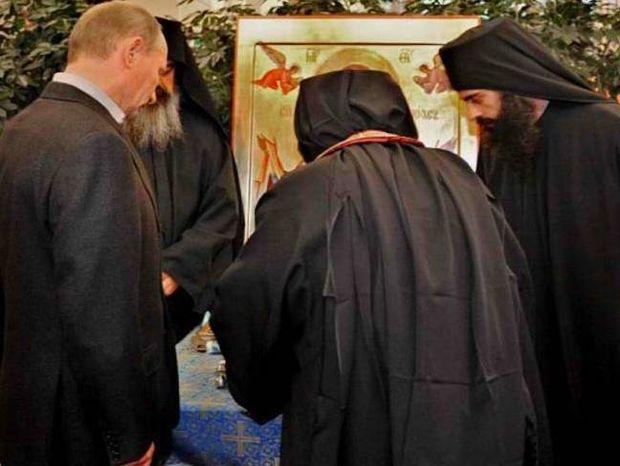 Τι έκανε ο Πούτιν στη μονή Ιβήρων, του Αγ. Όρους