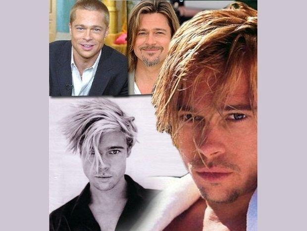 O Brad Pitt στη μηχανή του χρόνου! (photos)