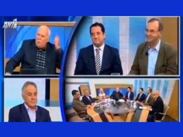 Παπαδάκης-Γεωργιάδης: Άγριος τσακωμός στον αέρα! Έριξαν διαφημίσεις!