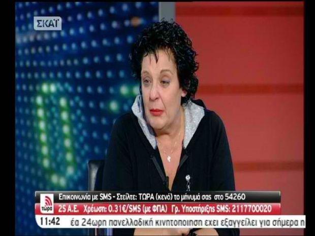 Βίντεο: Ξέσπασε σε κλάματα η Κανέλλη λόγω φάρσας με την Χρυσή Αυγή!