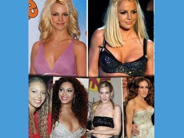 Ποιες διάσημες stars έχουν κάνει πλαστική στήθους; Δείτε photos πριν και μετά τη.. μεγέθυνση!!