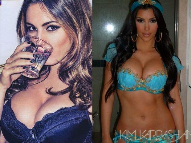 Kim Kardasian και Kelly Brook – Η μανία της αυτοπροβολής τους