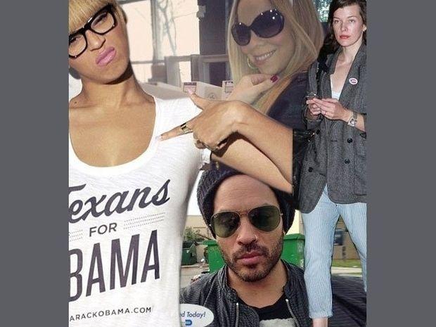 Η μεγάλη νίκη του Obama: Όλοι οι celebrities που τον ψήφισαν και ο χαμός στο twitter