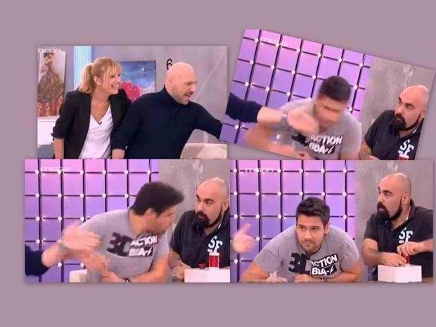 «Έφαγε ξύλο» από τον Μουτσινά ο Ουγγαρέζος on air!