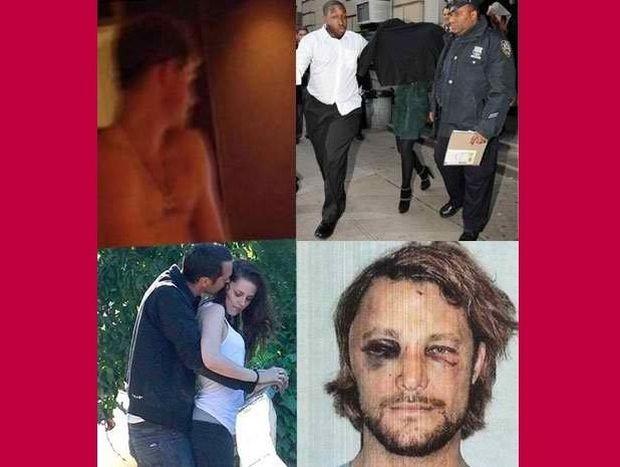 Tα μεγαλύτερα celebrity σκάνδαλα του 2012