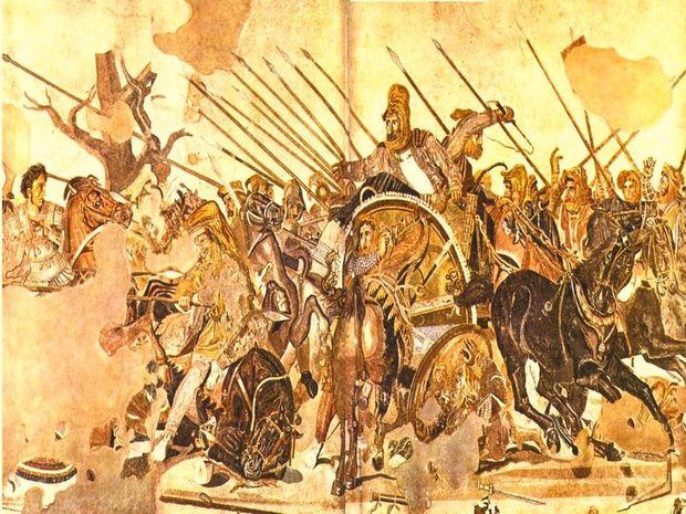 Ο τραυματισμός του Μεγάλου Αλεξάνδρου