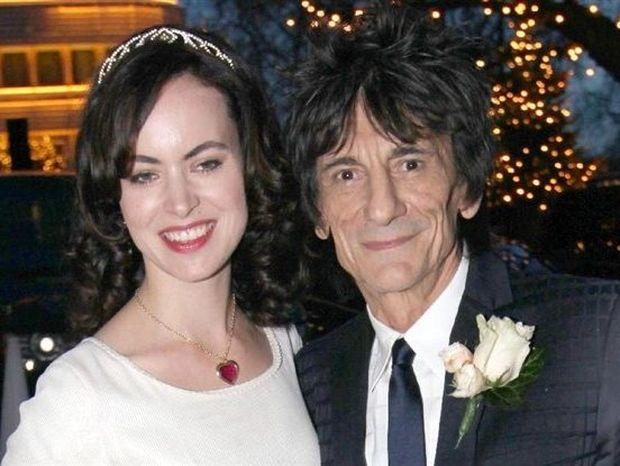 Ronnie Wood: O τρίτος γάμος του Rolling Stone