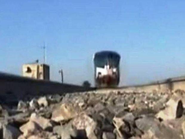 Mε το τρένο είναι επικίνδυνο να παίζεις!