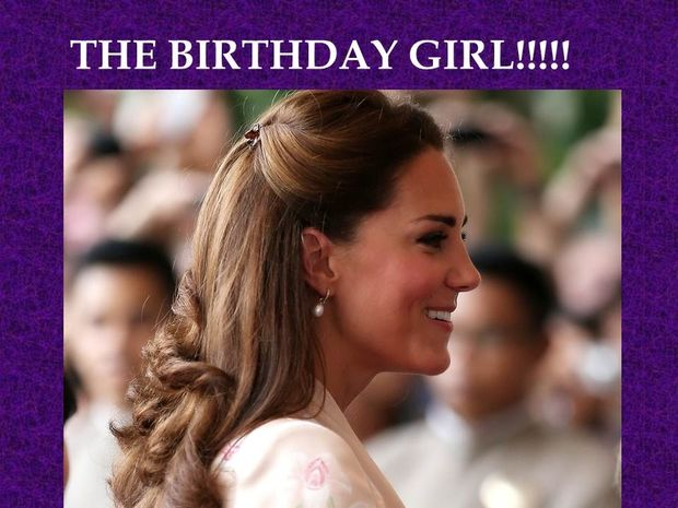 Kate Middleton: The birthday girl