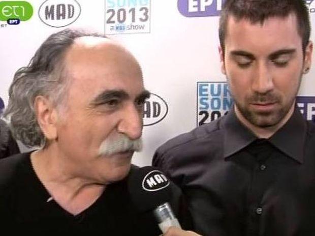 Eurovision 2013: Η «γυριστή» του Αγάθωνα λίγο πριν την ανακοίνωση του αποτελέσματος!