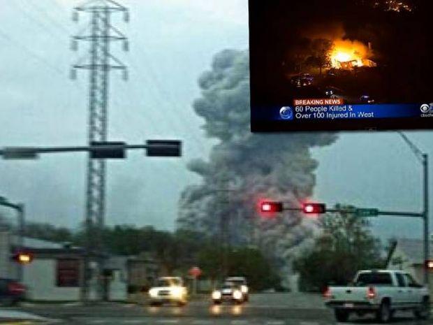 Βίντεο: Δεκάδες νεκροί από την έκρηξη σε εργοστάσιο λιπασμάτων στις ΗΠΑ