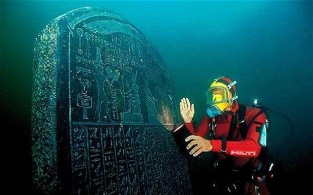 Η εντυπωσιακή βυθισμένη πόλη που ένωνε την αρχαία Ελλάδα με την Αίγυπτο!