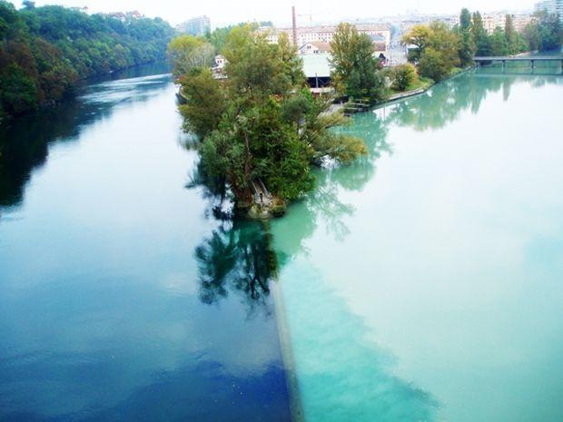 ΔΕΙΤΕ: Η εκπληκτική ένωση δύο ποταμών!