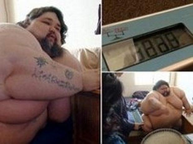 ΕΙΚΟΝΕΣ ΣΟΚ: Ζυγίζει 480 κιλά!
