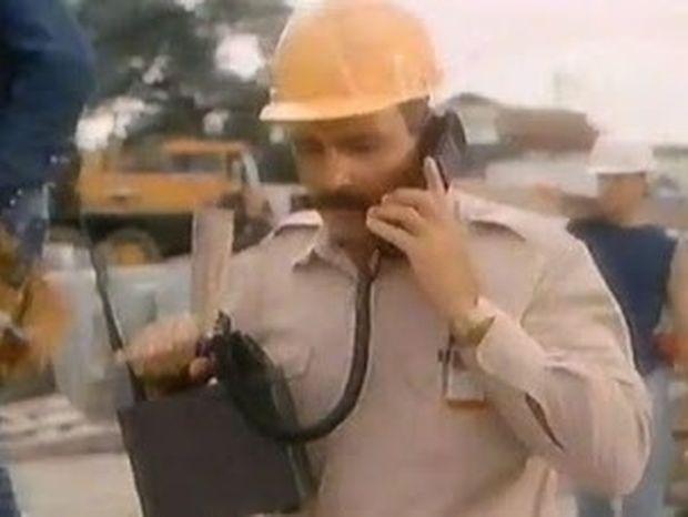 VIDEO: Διαφήμιση του 1989 για κινητό τηλέφωνο
