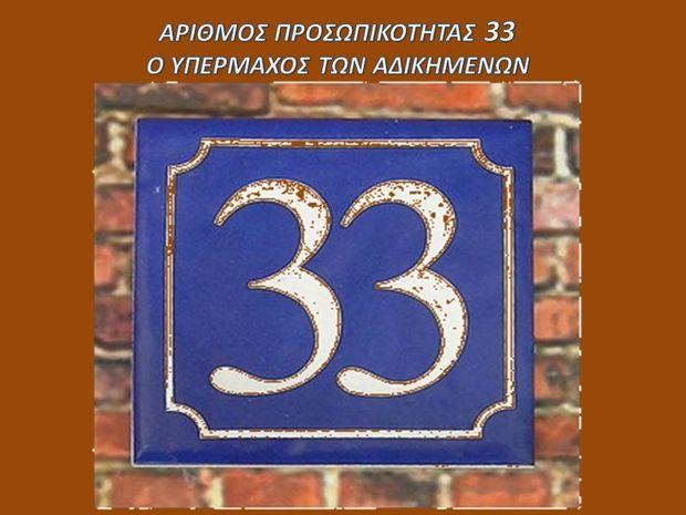 Αριθμός Προσωπικότητας 33: Ο υπέρμαχος των αδικημένων