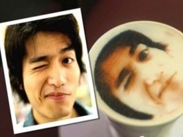 VIDEO: Καφές με τη φωτογραφία σας στον αφρό!