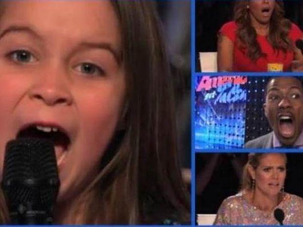 Βίντεο: Δείτε πώς η 6χρονη σόκαρε τους κριτές του America`s got talent