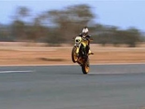 VIDEO: Σούζα με ταχύτητα 225 χιλιομέτρων...