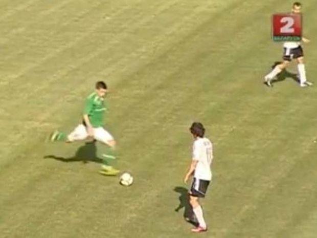 Λευκορωσία: Εκπληκτικό γκολ από τα 64 μέτρα! (video)