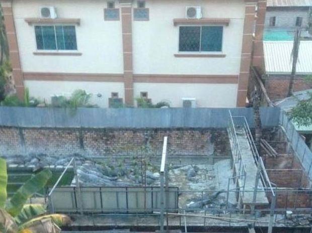 Η τρομακτική θέα ενός ξενοδοχείου στη Καμπότζη
