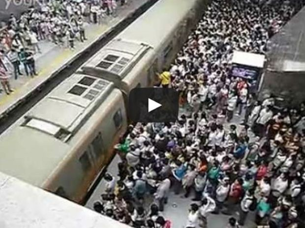 Το Μετρό του Πεκίνου σε ώρα αιχμής (Video)