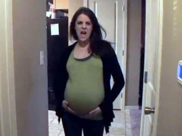 Το πιο αστείο βίντεο εγκυμοσύνης που έχετε δει ποτέ!