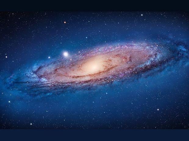 Εικόνες του γαλαξία της Ανδρομέδας