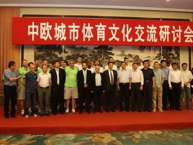 Παναθηναϊκός: Οι Κινέζοι μαθαίνουν από τον «Εξάστερο» (photos+videos)
