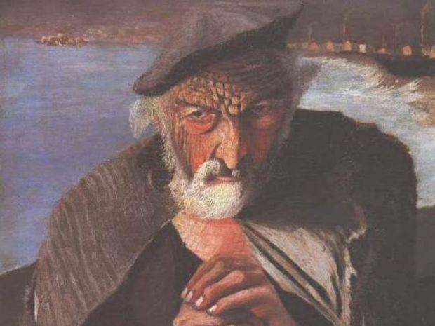 Απίστευτο: Καθρέφτης μετατρέπει τον ψαρά του πίνακα σε...