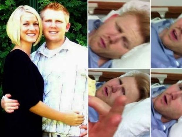 Το βίντεο που σαρώνει: Ξύπνησε από νάρκωση και είπε στη γυναίκα του...
