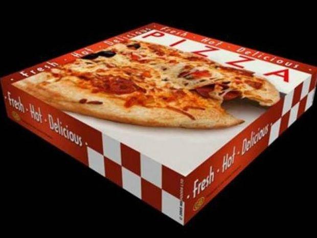 Γιατί οι πίτσες μπαίνουν σε τετράγωνα κουτιά;