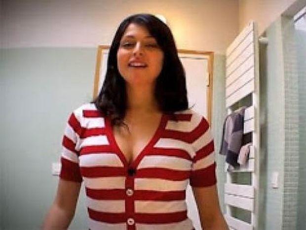 Βίντεο: Έβαλε κρυφή κάμερα στo στήθος της! Δείτε τo αποτέλεσμα