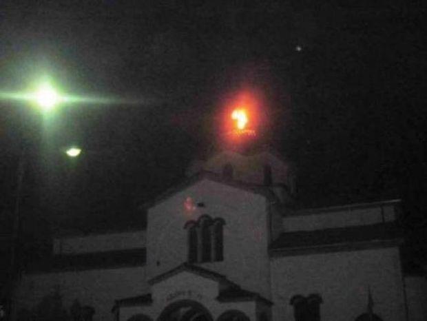 Τρίκαλα: Η εικόνα της εκκλησίας που σόκαρε τους κατοίκους