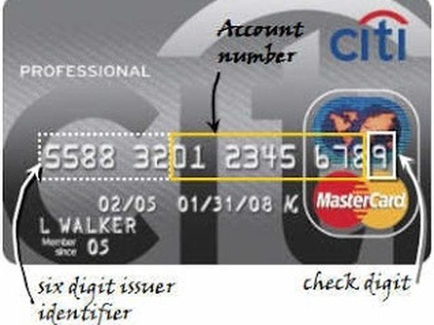 Το ήξερες; Μάθε τι σημαίνουν οι αριθμοί στην πιστωτική κάρτα