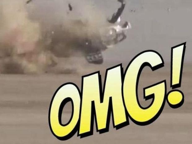 Απίστευτο! Βγήκε ζωντανός από αυτό το ατύχημα! Δείτε το! [video]