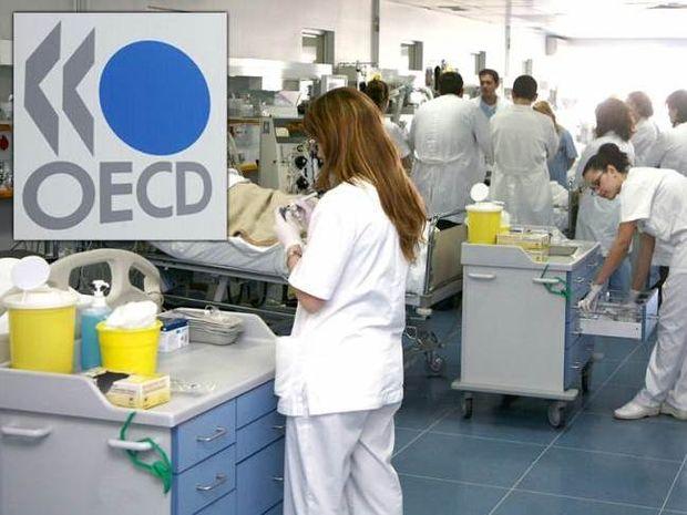 ΟΟΣΑ: Καταδικασμένοι οι Έλληνες από τις περικοπές στην Υγεία
