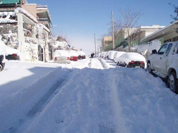 Επέλαση του χιονιά από την Τετάρτη – Χιόνια και στην Αττική
