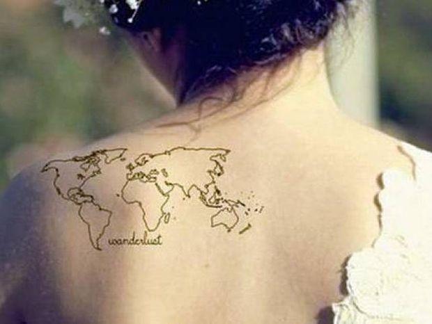 Τατουάζ για ταξιδιάρηδες τύπους (pics)