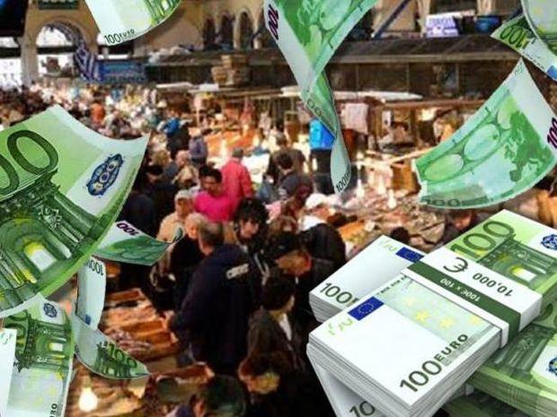 Απίστευτο περιστατικό στη Βαρβάκειο: Έδωσαν 20.000 € σε άπορους!