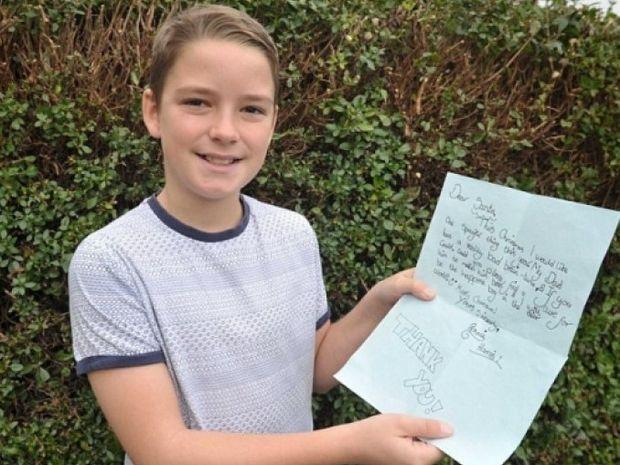 ΣΥΓΚΛΟΝΙΣΤΙΚΟ: Το γράμμα ένος 10χρονου στον Άγιο Βασίλη
