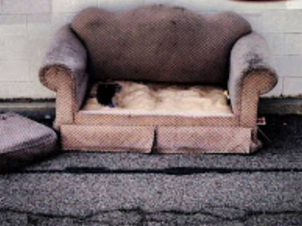 Φρίκη: Δείτε με τι ζούσε στον καναπέ του για μήνες...