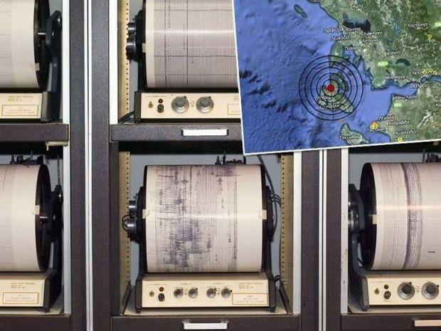 Ισχυρή σεισμική δόνηση 5,8 Ρίχτερ ταρακούνησε την Κεφαλονιά