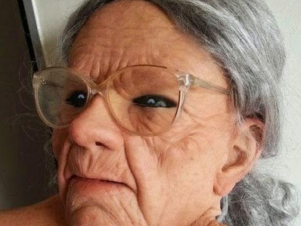 Νομίζεις ότι βλέπεις μια γιαγιά; Δείτε όλη την φωτογραφία...