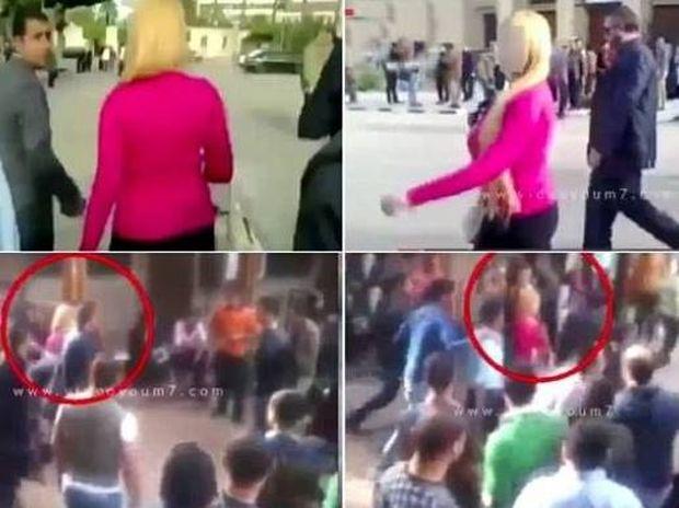 Βίντεο: Tι γίνεται όταν μια ξανθιά μπαίνει στο Πανεπιστήμιο του Καΐρου