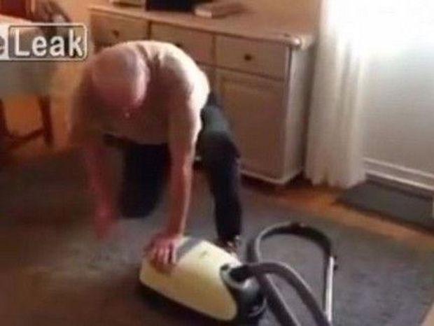 ΑΠΙΘΑΝΟ VIDEO: Δείτε τι κάνει με.. τη σκούπα!