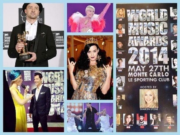World Music Awards 2014: Ο δικός μας Σάκης Ρουβάς και οι νικητές